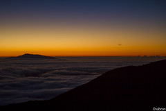 Sunset - clouds over Kona (xubean) Tags: hawaii hawaiiisland photography nepaliphotographer nepali