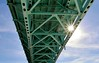 Break on through (mpalmer934) Tags: bridge sun sky pennsylvania clouds doors break through other side
