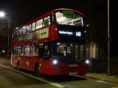 Horrible Branding - Route 140 (londonbusexplorer) Tags: metroline west volvo b5lh wrightbus gemini 3 vwh2237 lk66eog 140 heathrow central harrow weald tfl london buses hayes route branding scheme