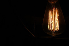 23/365 (Mellow Mandy) Tags: 365project project365 light lightbulb vintagelightbulb filament edisonbulb