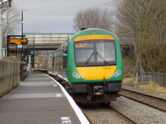 170501 at Landywood Station (The Walsall Spotter) Tags: westmidlandsrailway landywoodrailwaystation thechaseline class170turbostar 170501