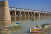 Kotri Barrage Sindh - Pakistan (Aliraza Khatri) Tags: travel pakistan landscape landmark barrage reservoir waterandsupply sindh colorsofsindh sindho sindhriver composition outdoor traveldestination travelpakistan boats sailing colors colorfull aliraza khatri alirazakhatri