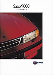 Saab 9000 Aero brochure 11-1992 (sjoerd.wijsman) Tags: carbrochure brochure autobrochure prospekt folleto car cars auto voiture fahrzeug brochura opuscolo broschyr vehicle saab 9000 saab9000 111992 1992