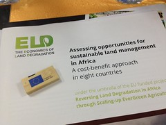 ELD kick-off workshop for the project Economics of Land Degredation