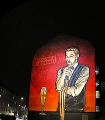 Radeberger Streetart Grafitti Dresden Neustadt (letizia.lorenzetti) Tags: dresden deutschland nacht nightwalk sachsen