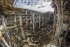Ruinas (sairacaz) Tags: ruinas vigo galicia cabral álvarez ruins canon eos550d samyang 8mm ojodepez fisheye