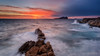 Enjoy every sunset ... (Anton Calpagiu) Tags: cala conta comte ibiza baleares nikon 20mm waves