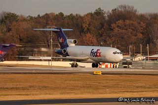 N286FE FedEx | Boeing 727-233(A)(F) | Memphis International Airport