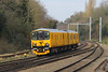 Yellow Unit (Treflyn) Tags: network rail test train dmu 950 001 southcote junction bristol high level siding reading triangle sidings working impending electrification newbury visible location shot wires