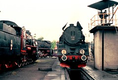 Ol49-111 Wolsztyn 13.05.2004 (matthias.sitte1) Tags: ol49 pkp wolsztyn parowoz lokomotive dampflok steam train zug rail railway eisenbahn