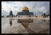Dome of the Rock (Ilan Shacham) Tags: cityscape mosque reflection gold beauty architecture street religion jerusalem israel domeoftherock fineart fineartphotography islam holy
