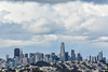 wilde overlook tower skyline ll (pbo31) Tags: bayarea california nikon d810 color march winter 2018 boury pbo31 sanfrancisco over view skyline city urban sky salesforce transamerica 181fremont construction tower clouds mclarenpark rooftops cranes