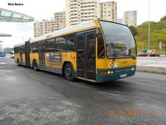 CCFL 1550 Volvo B10M 90 - 71 - FH Gare Oriente [ 1 ] (madafena1) Tags: ccfl 1550 volvo b10m autocarro articulado gare oriente