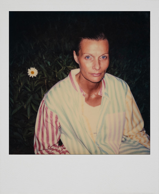 Analog Archive: My Mother, 80s, Polaroid