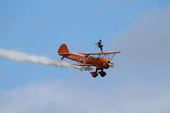 AirbourneFriday2017-160 (mcaviationphoto) Tags: airbourne eastbourne 25thanniversaryofairbourne breitlingwingwalkers breitlingsa aerobatic aerobaticteam civilianaerobaticdisplayteam boeingstearmanmodel75 boeingstearmankaydet stearman kaydet stearmanaircraftcorporation theboeingcompany boeing boeingstearman biplane trainer warbird aerosuperbaticsltd rfcrendcombairfield
