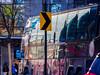 """The Ride"" Bus 2 (deepaqua) Tags: street bus timewarnercenter winter sign tree columbuscircle nyc"