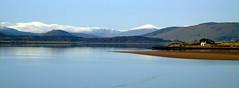 Dornoch Firth (stuartcroy) Tags: scotland sea scenery sony sky still snow reflection beautiful blue bay dornoch