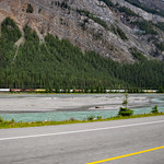 Trans-Canada Highway west of Field, British Columbia thumbnail