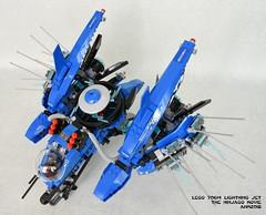 LEGO 70614 Lightning Jet (KatanaZ) Tags: lego70614 lightningjet theninjagomovie jay ed edna crusty jelly sharkarmythug lego ninjago minifigures minifigs