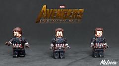 Captain America/Nomad - Avengers: Infinity War (McLovin1309) Tags: captain america steve rodgers nomad civil war marvel mcu comic comics avenger avengers infinity custom lego minifig fig figure minifigure