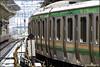 Yamanote Line Tokyo (Stefan Bock) Tags: yamanoteline tokyo tokio japan cooljapan train commuter zug sbahn bahnhof platform trainstation publictransitöpnv