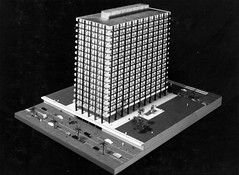 Government Offices Precinct George Street Model (Queensland State Archives) Tags: architecture model queensland archives qld history records 3d threedimensional car tree fountain georgestreet government offices precinct building skyscraper