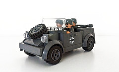 Oxford Kubelwagen (John C. Lamarck) Tags: lego oxford ww2 wwii war german army car volkswagen