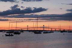 Newport Harbor, Newport, Rhode Island (russ david) Tags: newport harbor ri rhode island boat sunset june 2017