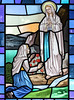 Our Lady of Lourdes (Lawrence OP) Tags: ourladyoflourdes immaculateconception stbernadette lourdes stainedglass window pimlico london