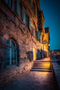 Mont Saint Michel pathway (Jacob Surland) Tags: ambience architecture building caughtinpixels church cobble cobblestones country evening france geometry hdr highdynamicrange house jacobsurland lamp light lines monastery montsaintmichel night oldhouse oldbuilding oldchurch oldstreet peaceful street time warmlight