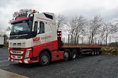 DSC_0017 (richellis1978) Tags: truck lorry haulage transport logistics cannock mdf great yarmouth volvo au65fpg fh fh4