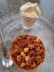 20180214_170938_HDR  Pecan pie with ice cream on the side (roni5820) Tags: pecan pie with ice cream side