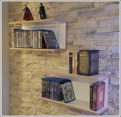 *Kundenfoto* DVD-Regal Librit weiß (WOODandMORE) Tags: dvdregal dvd media medienmöbel medienwand dvdshelf dvdsammlung multiplex weis wandregal woodandmore design