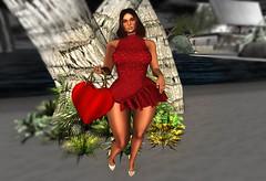 Treze Leila Dress (Sultry ALLURE) Tags: chantelsatine treze ncore