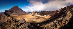 Getting on top of things ! (david t ruddock) Tags: tongariro tongarirocrossing volcano mountain