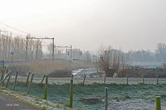 De polder bij Schiedam (Huib Smit) Tags: nederland schiedam polder winter koud