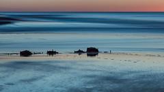 Abendstimmung am Meer (blichb) Tags: 2018 deutschland langzeitbelichtung meer nordsee schleswigholstein sonya7rii strand sylt wennigstedt weststrand zeissbatis1885 blichb