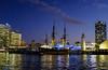 Sydney Ship and Lighthouse (Neal3K) Tags: sydney australia sydneyharbour night nightphotography