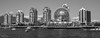 False Creek, Vancouver, BC (SonjaPetersonPh♡tography) Tags: vancouverharbour vancouver falsecreek scienceworld scienceworldattelusworldofscience telusworldofscience bc britishcolumbia canada blackandwhite nikon nikond5200 inlet harbour boats vancity blackwhitephotography cityscape buildings city downtownvancouver