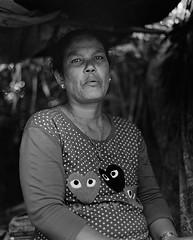 Myanmar-porter (Anis Binkason) Tags: blackandwhite 120film mediumformat pentax67 90mm documentary life portrait ilford xp2 lady porter myanmar