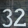 Thirty something (A Different Perspective) Tags: 32 bali black blind digit numeric sign text wall white