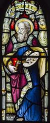 Greetham (Rutland), St Mary's church, window detail (Jules & Jenny) Tags: stainedglasswindow greetham rutland stmaryschurch