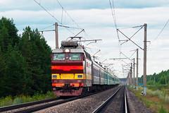 ЧС4Т-244 (logica.bs) Tags: чс4т244 сев сжд транссиб нея брантовка жд поезд перегон