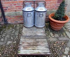 Rufford Park (kelvin mann) Tags: ruffordpark rufford milk churns