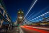 London light trails (BJSmit) Tags: london londen 2017 uk longexposure