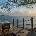 Candle light dinner am Meer, Praslin Seychellen