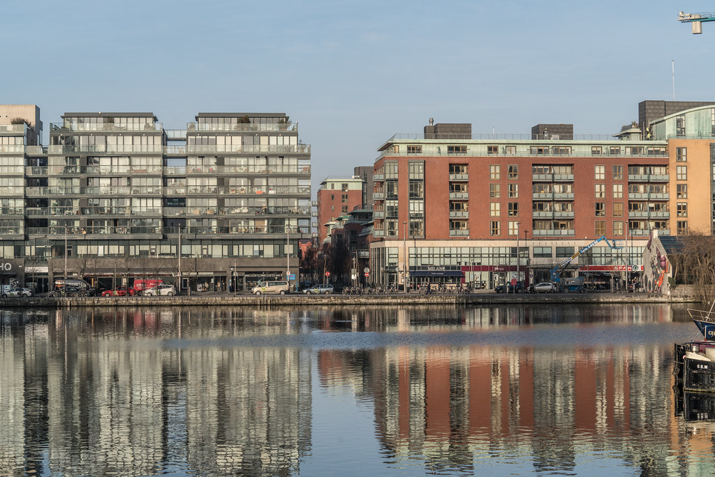 GRAND CANAL DOCK AREA OF DUBLIN [PHOTOGRAPHED 11 JANUARY 2018]-135440