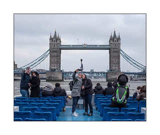 Missing The View, Thames Riverboat Ride, London, England.