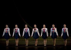 North horean pioneers girls singing during a show at Mangyongdae children's palace, Pyongan Province, Pyongyang, North Korea (Eric Lafforgue) Tags: artscultureandentertainment asia child childhood children communism dictatorship dprk fervour fulllength girl girls groupofpeople horizontal humanbeing indoors innocence lifestyles mangyongdae music nkorea6822 northkorea palace pioneers pyongyang scene sing singing song stage youth pyonganprovince 北朝鮮 북한 朝鮮民主主義人民共和国 조선 coreadelnorte coréedunord coréiadonorte coreiadonorte 조선민주주의인민공화국 เกาหลีเหนือ קוריאההצפונית koreapółnocna koreautara kuzeykore nordkorea північнакорея севернакореја севернакорея severníkorea βόρειακορέα