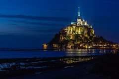 Le Mont St. Michel  (Unesco world heritage), France (Frans.Sellies) Tags: 20130920img9896 france frankrijk frankreich